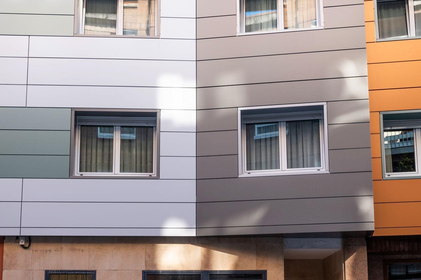 Detalle fachada principal
